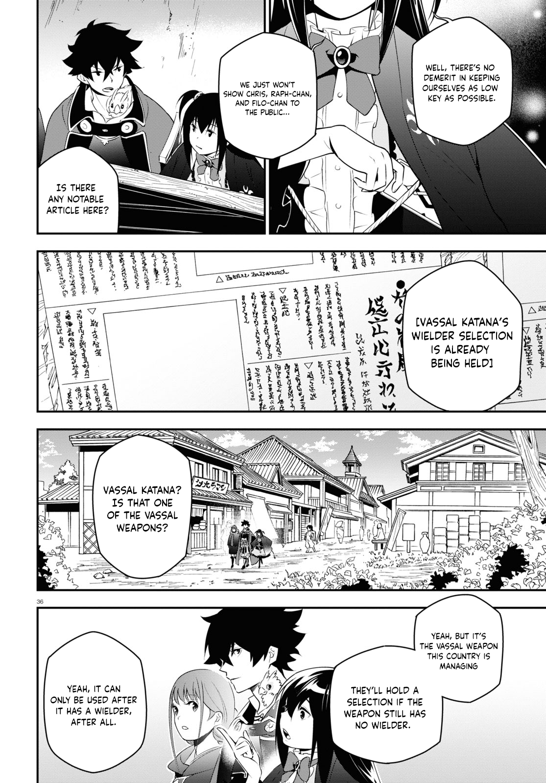 Manga The Rising of the Shield Hero - Chapter 72 Page 37