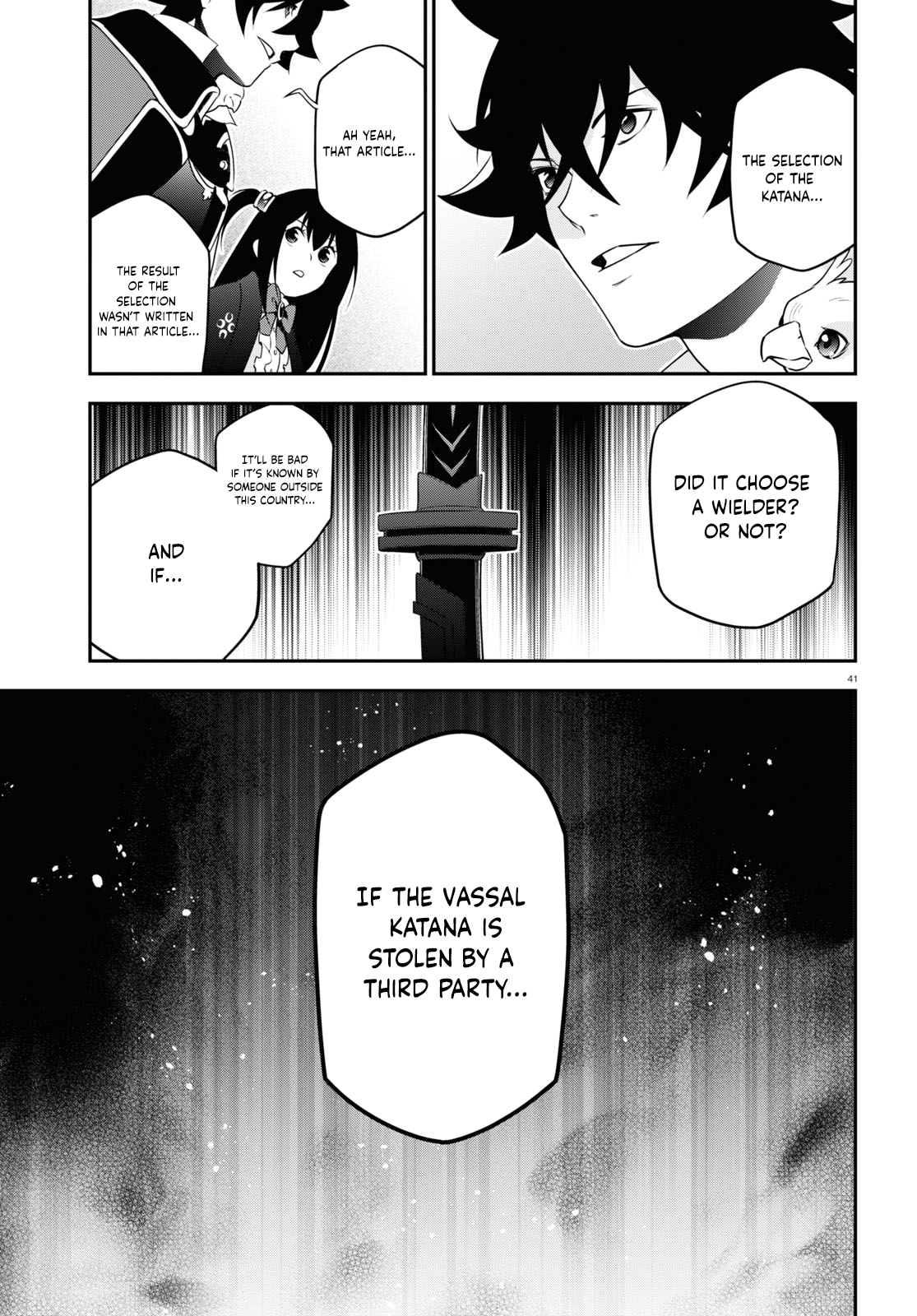 Manga The Rising of the Shield Hero - Chapter 72 Page 42