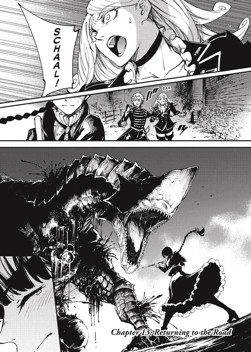 Manga To the Abandoned Sacred Beasts - Chapter 13 Page 1