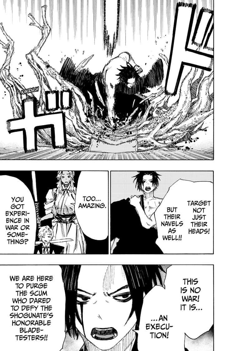 Manga Jigokuraku (Yuuji Kaku) - Chapter 88 Page 15