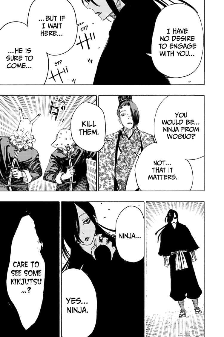 Manga Jigokuraku (Yuuji Kaku) - Chapter 88 Page 17