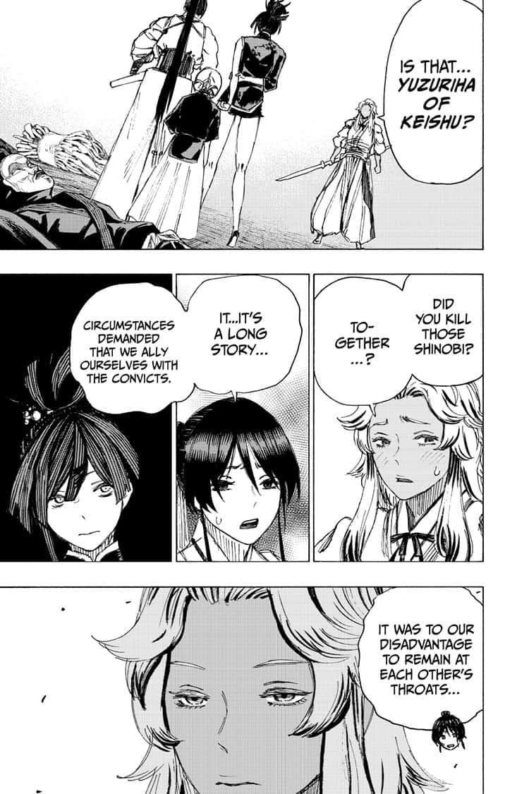 Manga Jigokuraku (Yuuji Kaku) - Chapter 89 Page 14