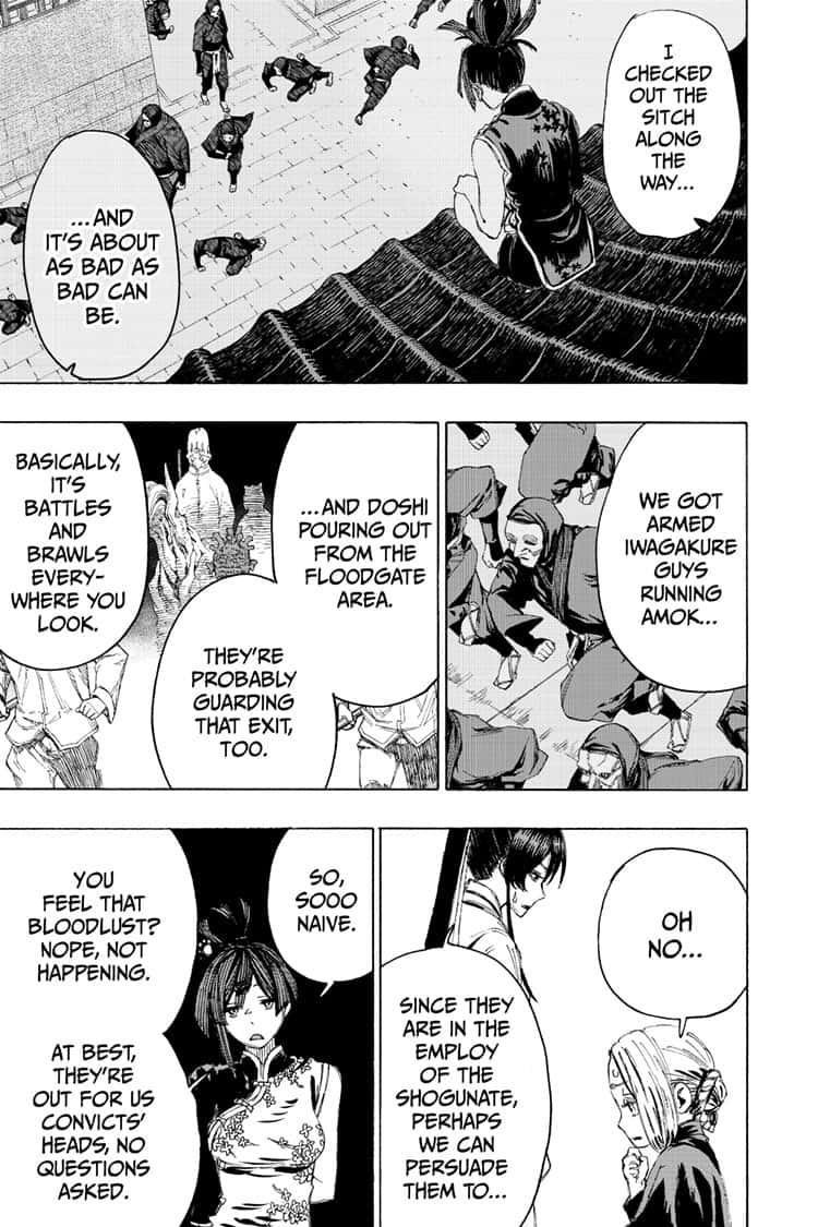 Manga Jigokuraku (Yuuji Kaku) - Chapter 89 Page 10