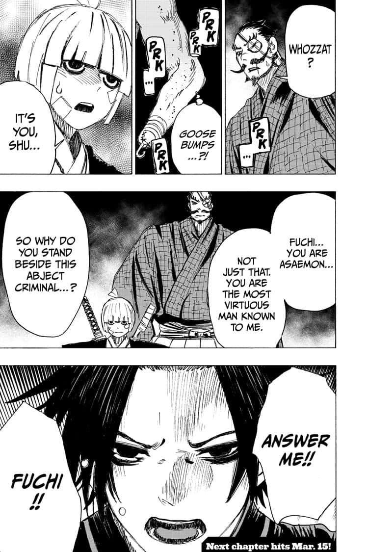 Manga Jigokuraku (Yuuji Kaku) - Chapter 89 Page 22