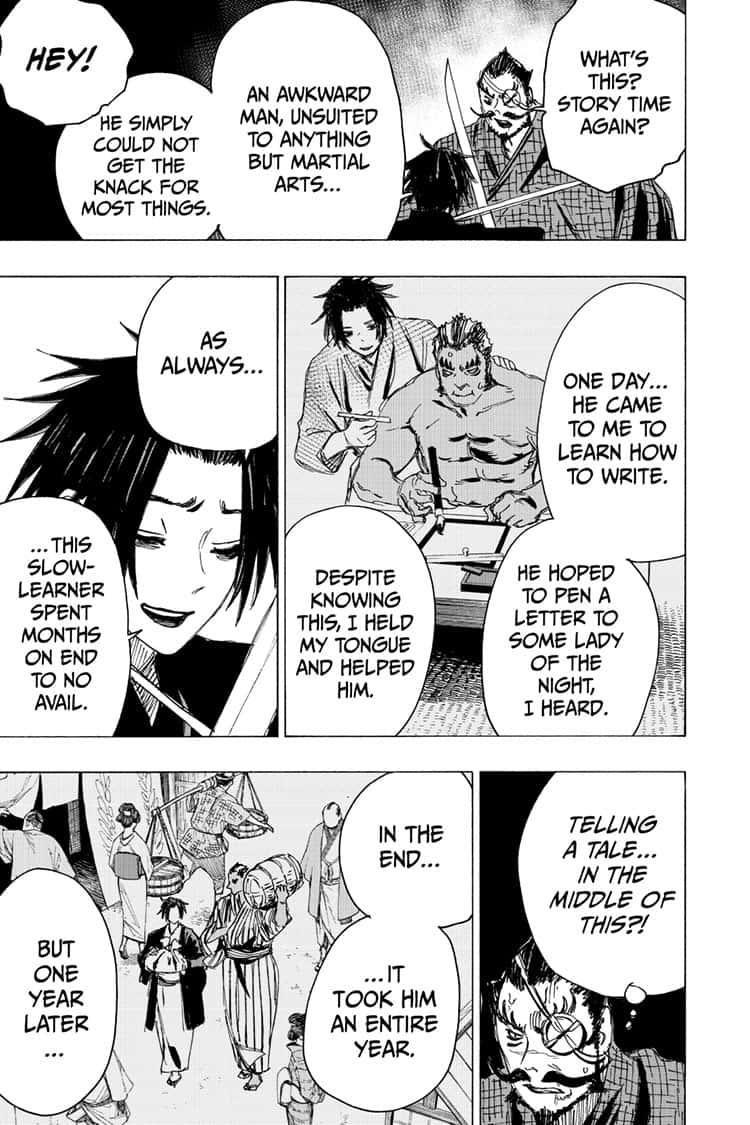 Manga Jigokuraku (Yuuji Kaku) - Chapter 90 Page 13