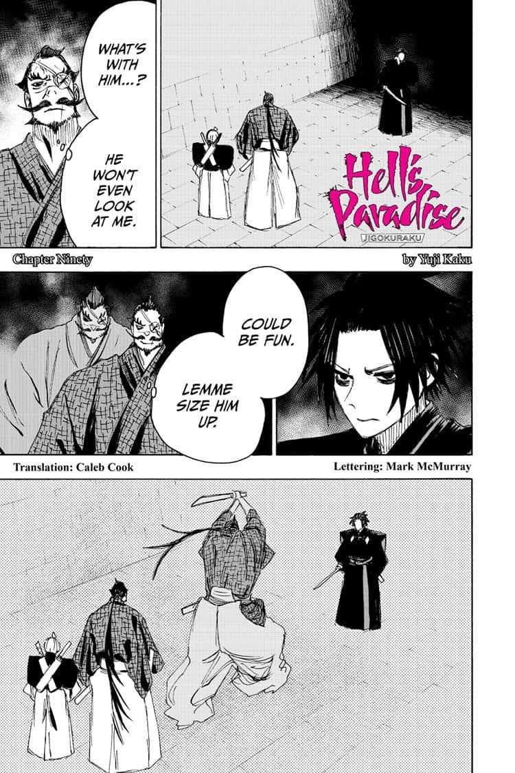 Manga Jigokuraku (Yuuji Kaku) - Chapter 90 Page 1