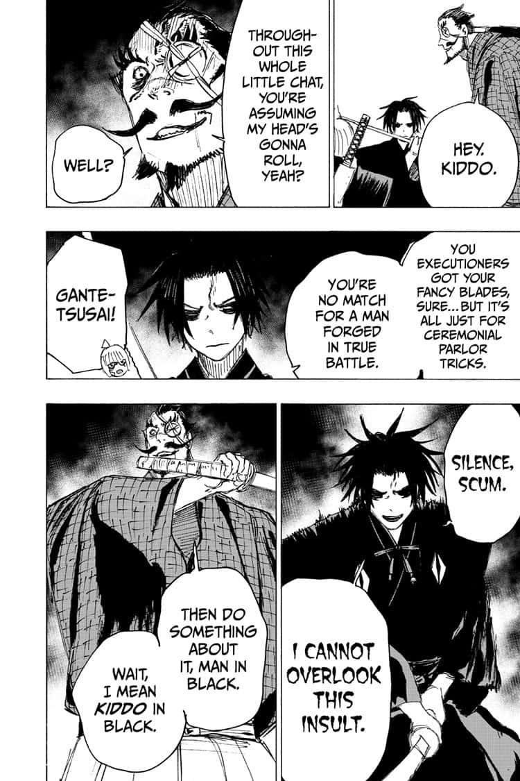 Manga Jigokuraku (Yuuji Kaku) - Chapter 90 Page 8