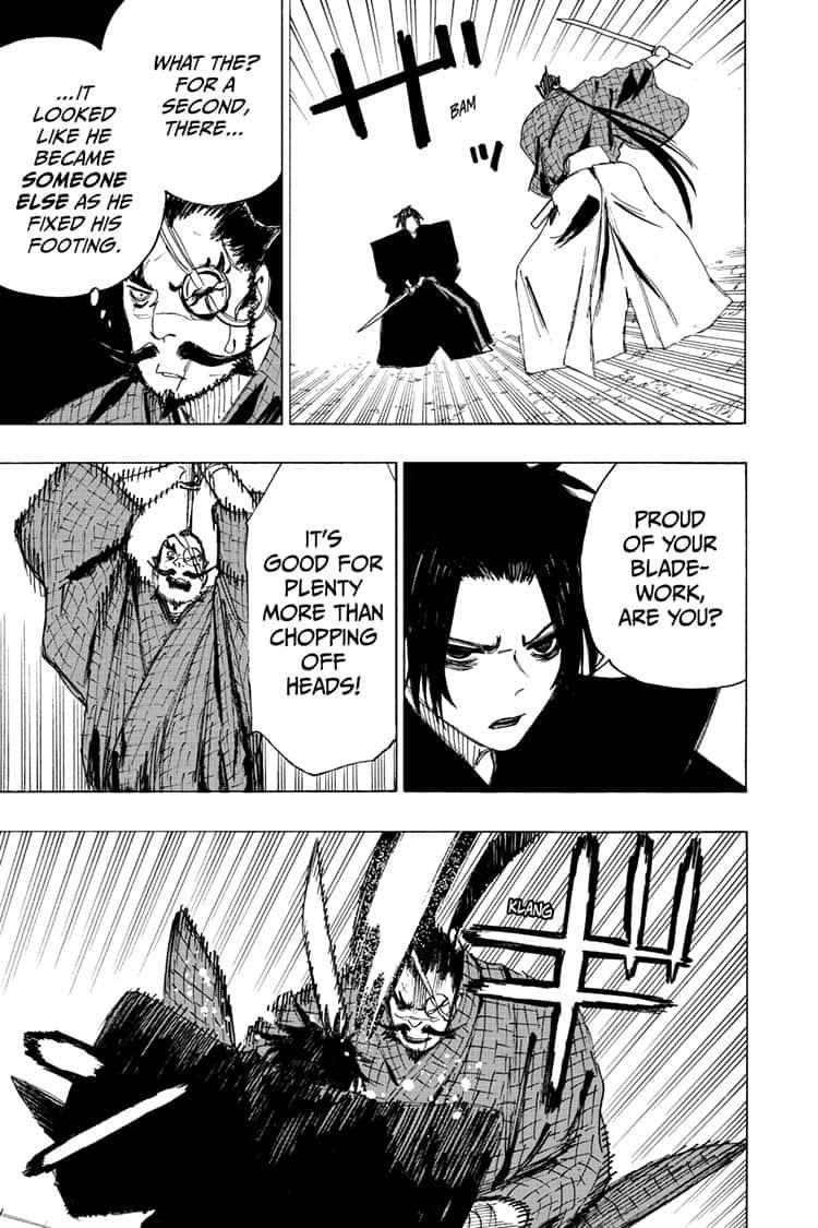 Manga Jigokuraku (Yuuji Kaku) - Chapter 90 Page 11