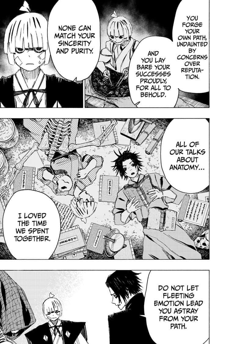 Manga Jigokuraku (Yuuji Kaku) - Chapter 90 Page 5