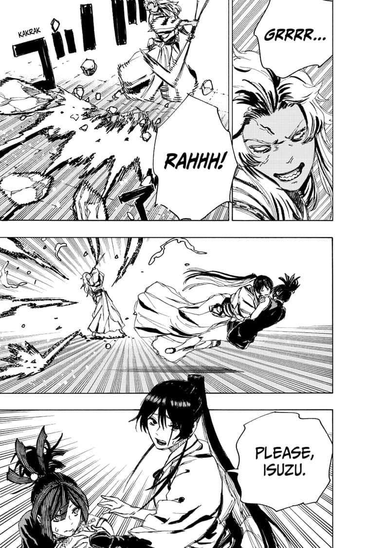 Manga Jigokuraku (Yuuji Kaku) - Chapter 92 Page 18