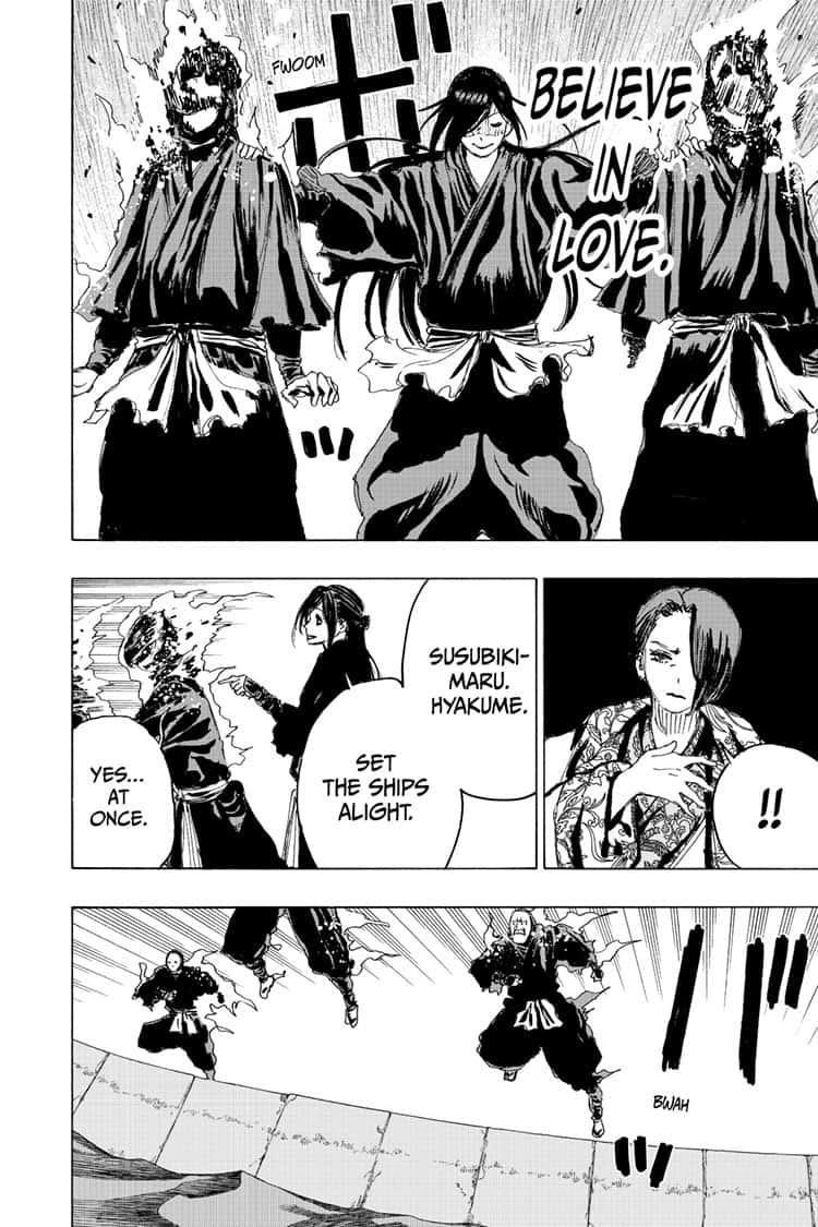 Manga Jigokuraku (Yuuji Kaku) - Chapter 92 Page 5