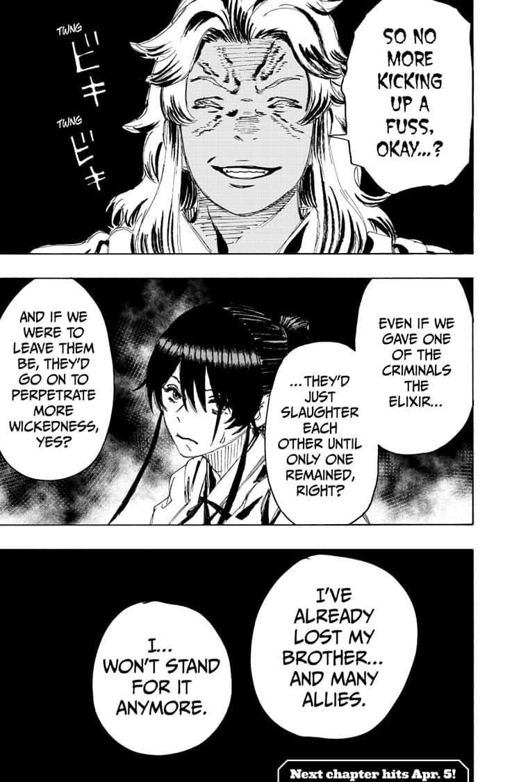 Manga Jigokuraku (Yuuji Kaku) - Chapter 92 Page 20