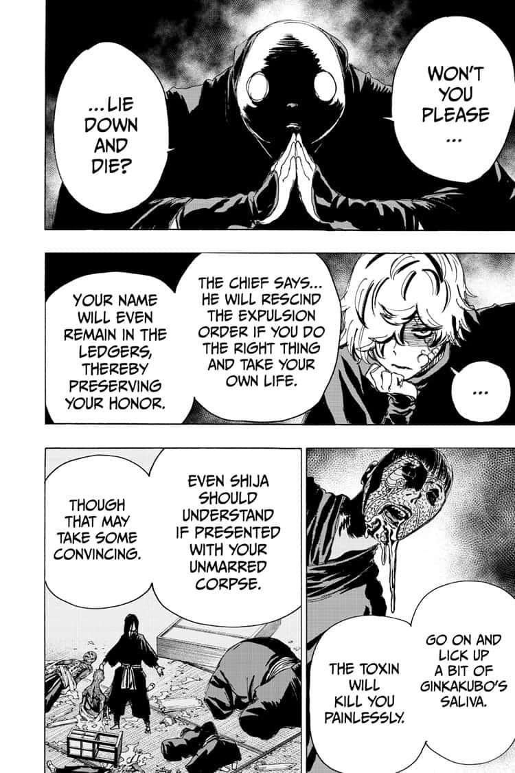 Manga Jigokuraku (Yuuji Kaku) - Chapter 93 Page 8