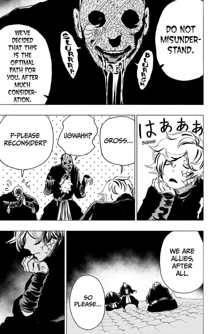 Manga Jigokuraku (Yuuji Kaku) - Chapter 93 Page 9