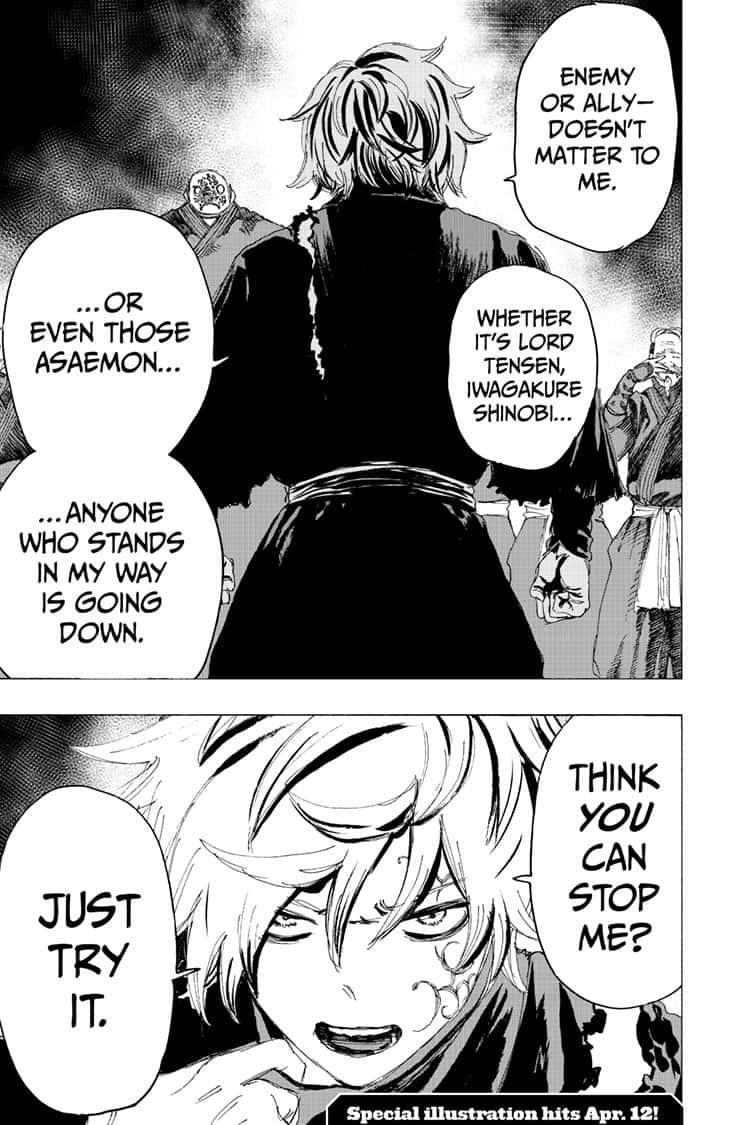 Manga Jigokuraku (Yuuji Kaku) - Chapter 93 Page 19