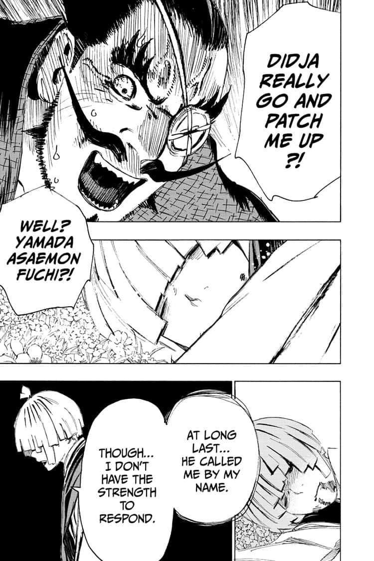 Manga Jigokuraku (Yuuji Kaku) - Chapter 96 Page 17