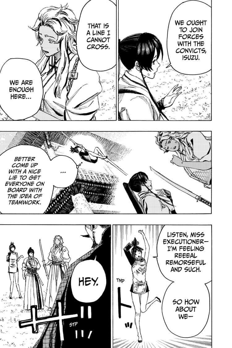 Manga Jigokuraku (Yuuji Kaku) - Chapter 97 Page 9