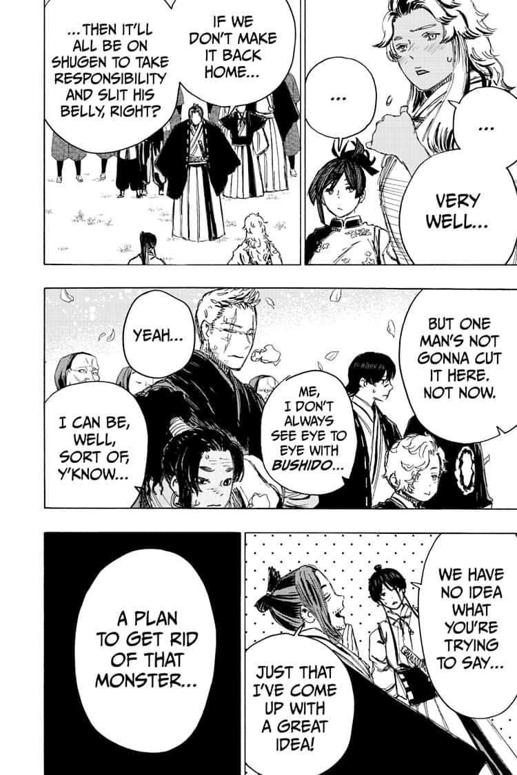 Manga Jigokuraku (Yuuji Kaku) - Chapter 97 Page 18