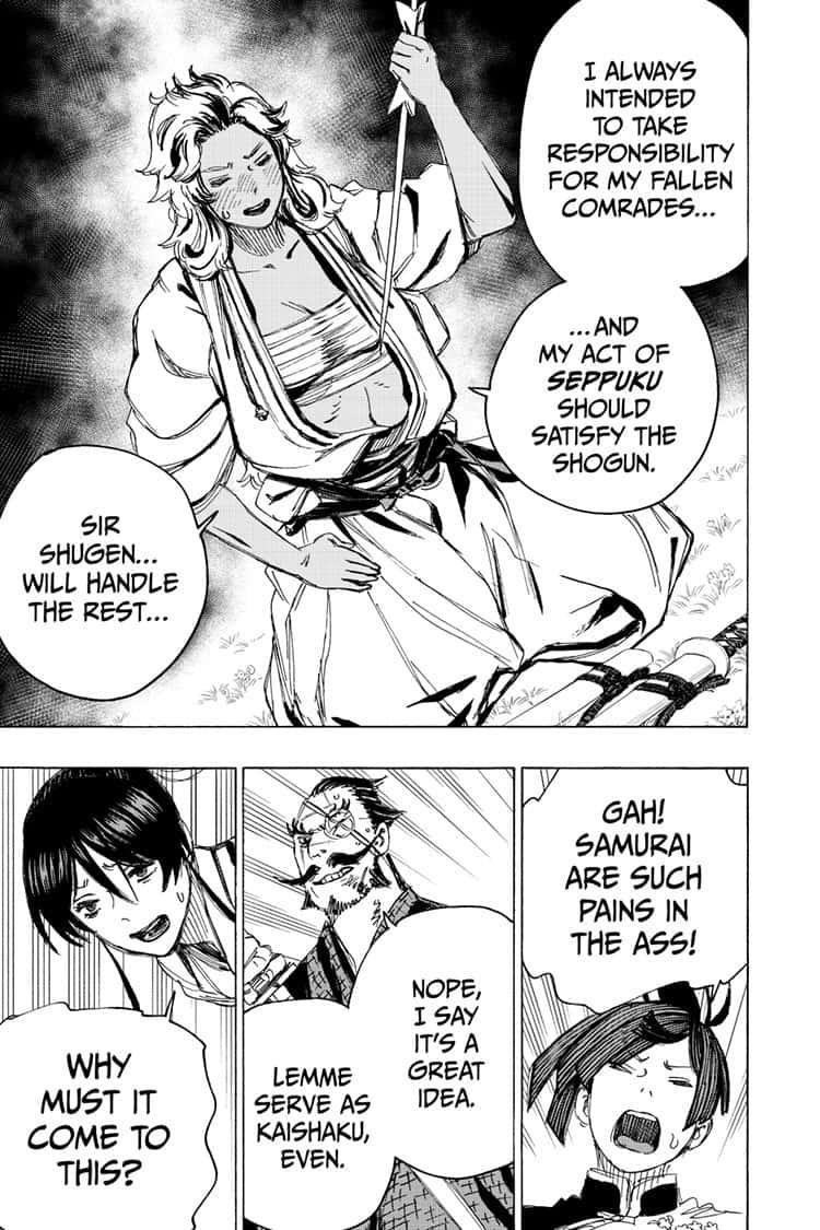 Manga Jigokuraku (Yuuji Kaku) - Chapter 97 Page 15