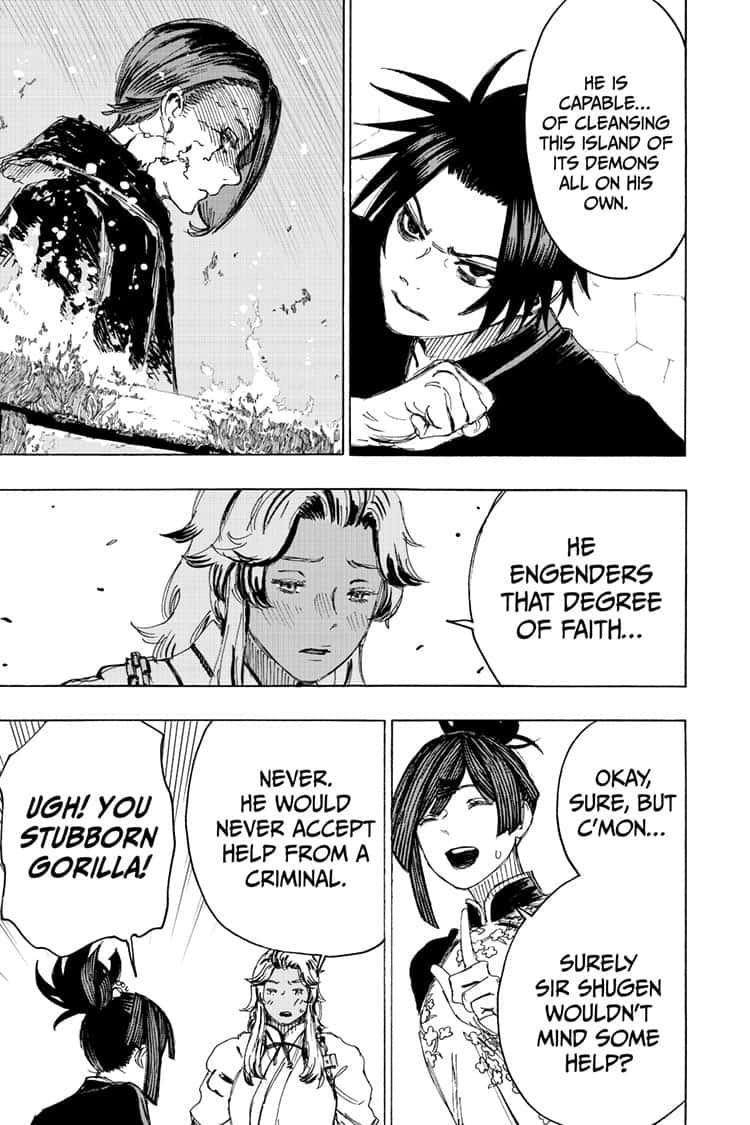 Manga Jigokuraku (Yuuji Kaku) - Chapter 97 Page 13
