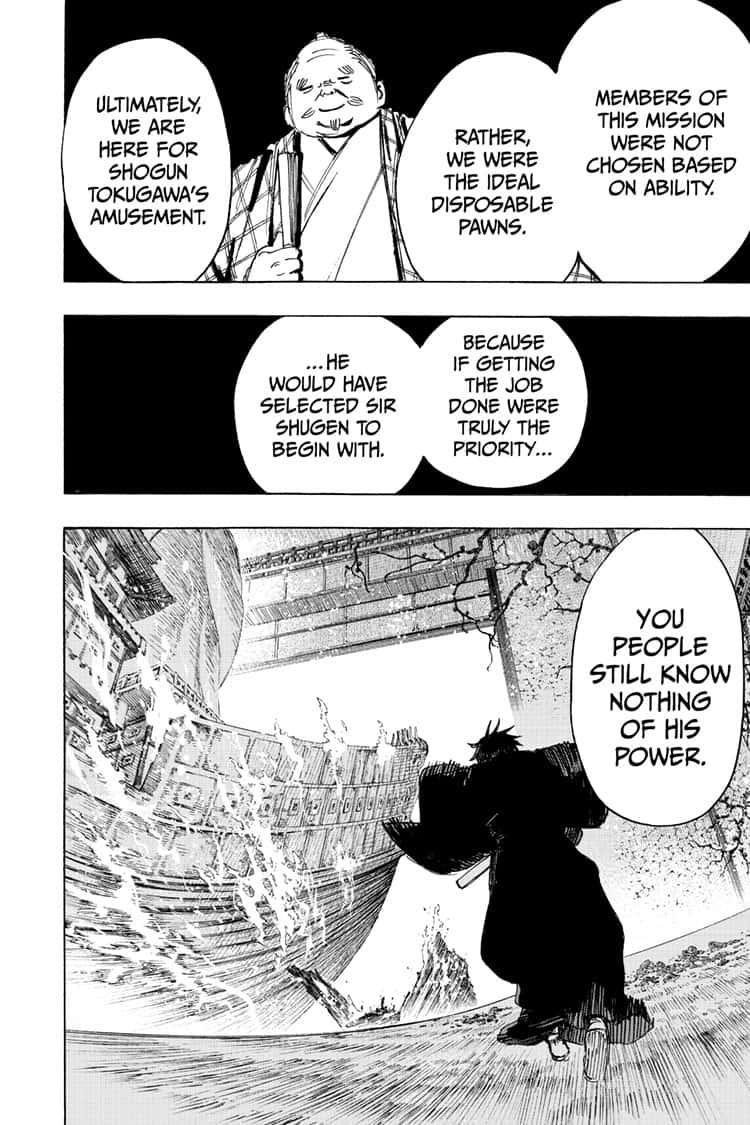 Manga Jigokuraku (Yuuji Kaku) - Chapter 97 Page 12