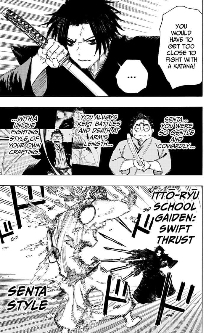Manga Jigokuraku (Yuuji Kaku) - Chapter 97 Page 3