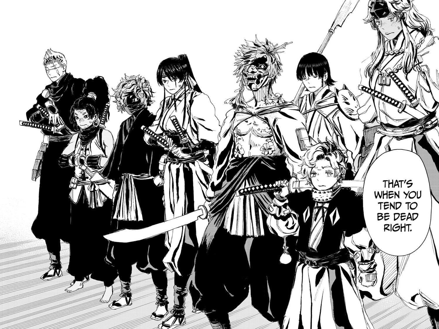Manga Jigokuraku (Yuuji Kaku) - Chapter 99 Page 16