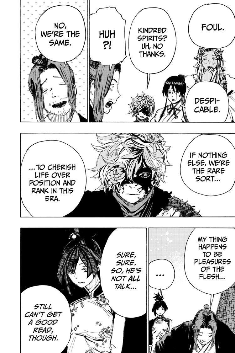 Manga Jigokuraku (Yuuji Kaku) - Chapter 99 Page 12