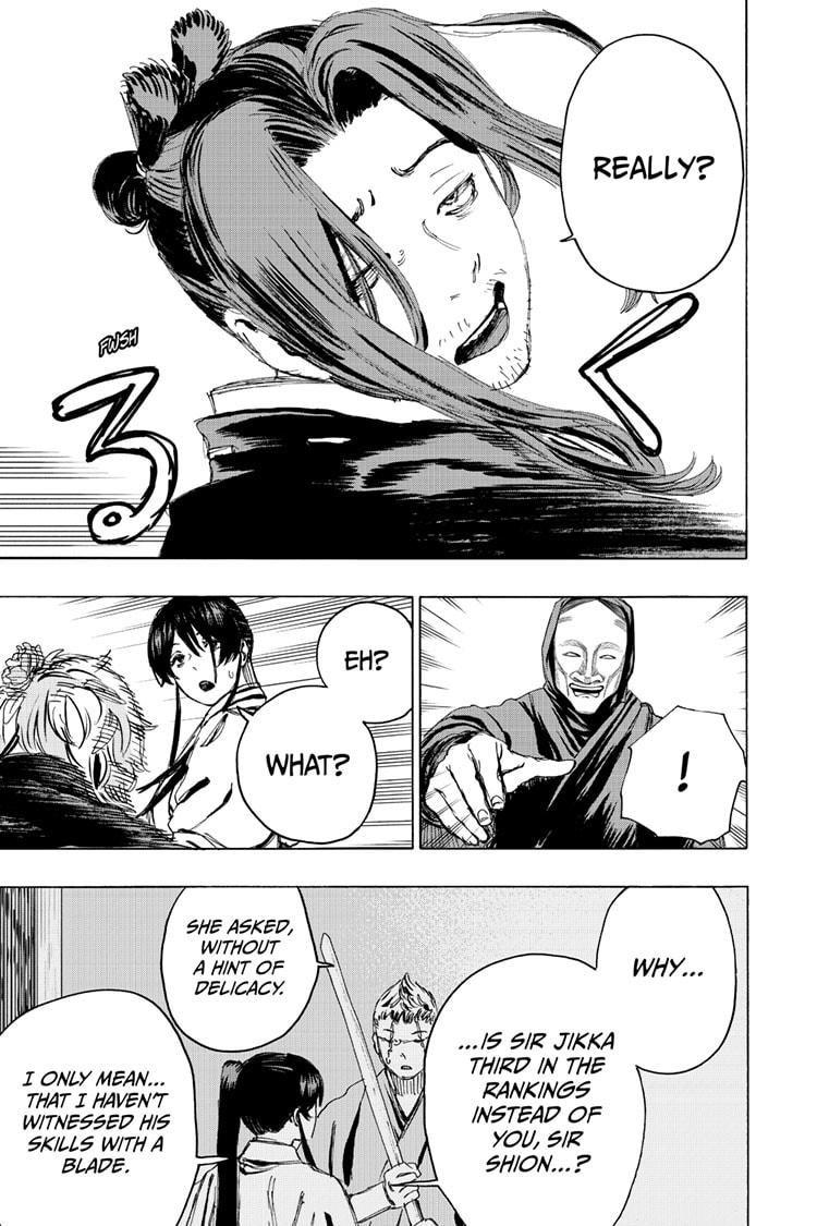Manga Jigokuraku (Yuuji Kaku) - Chapter 99 Page 5