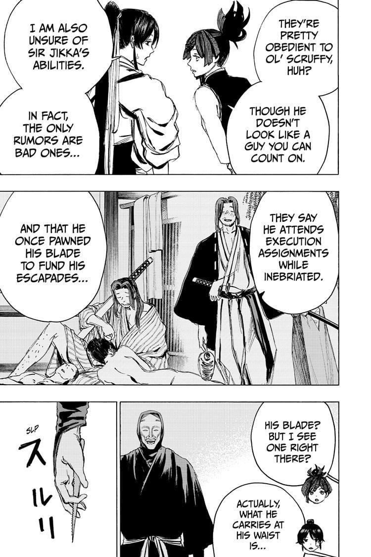 Manga Jigokuraku (Yuuji Kaku) - Chapter 99 Page 3