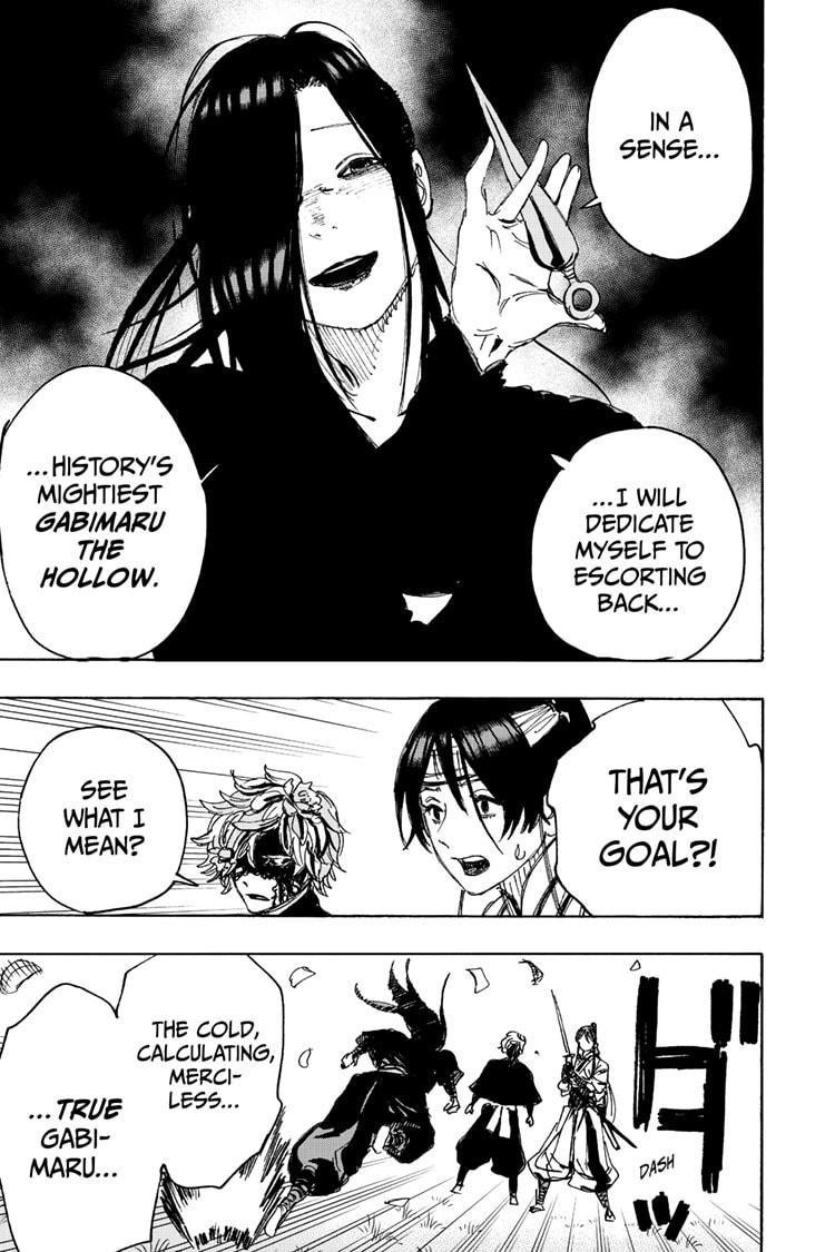 Manga Jigokuraku (Yuuji Kaku) - Chapter 103 Page 17
