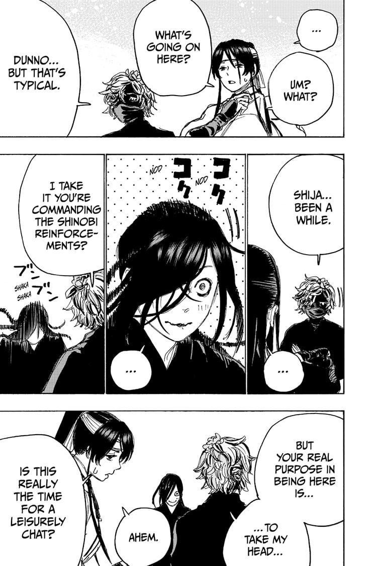Manga Jigokuraku (Yuuji Kaku) - Chapter 103 Page 9