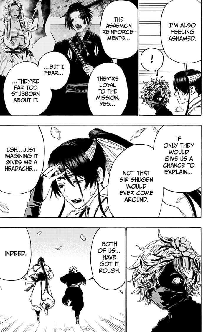 Manga Jigokuraku (Yuuji Kaku) - Chapter 103 Page 3
