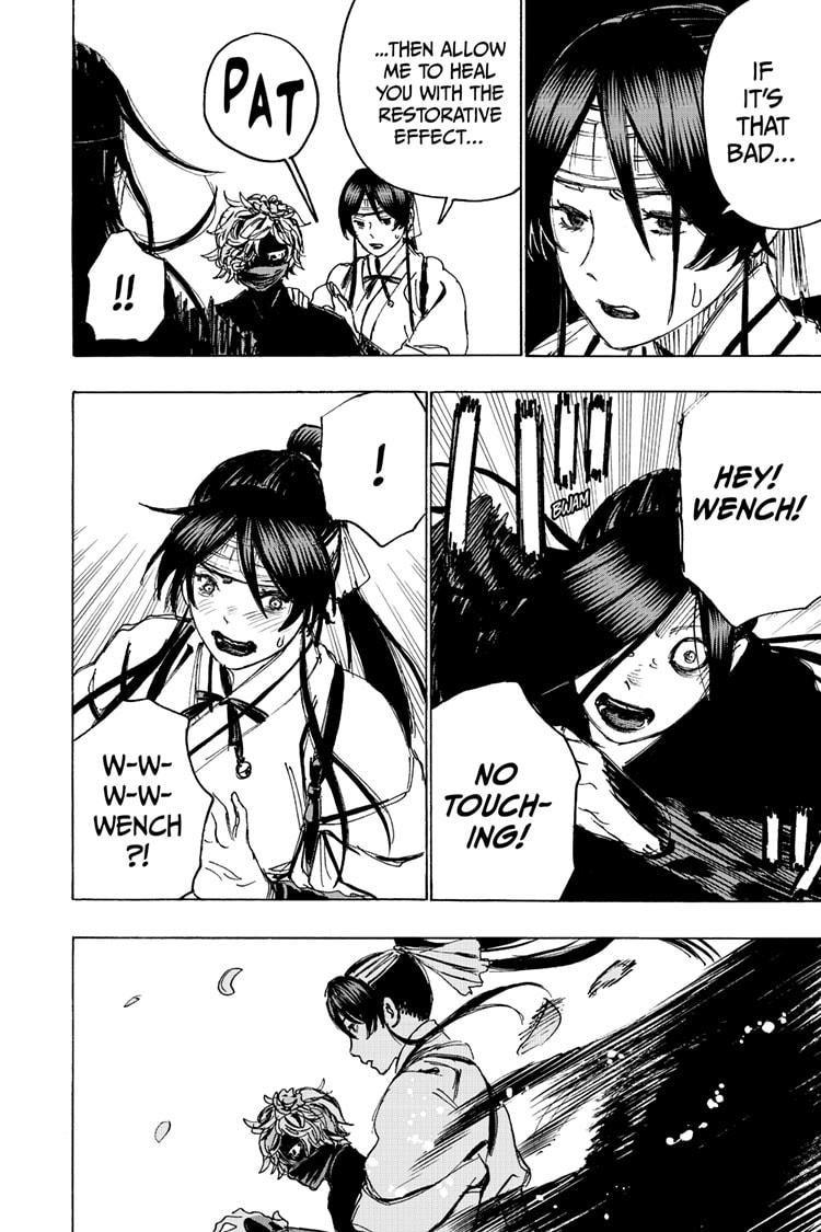 Manga Jigokuraku (Yuuji Kaku) - Chapter 103 Page 12