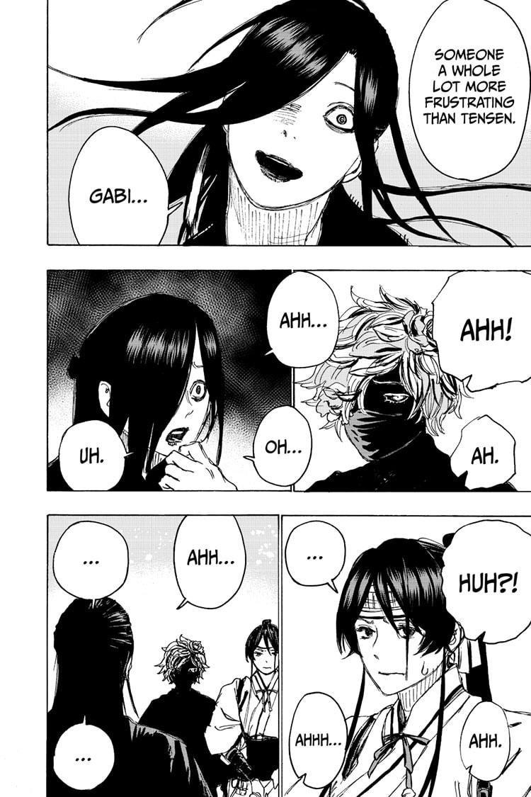 Manga Jigokuraku (Yuuji Kaku) - Chapter 103 Page 8