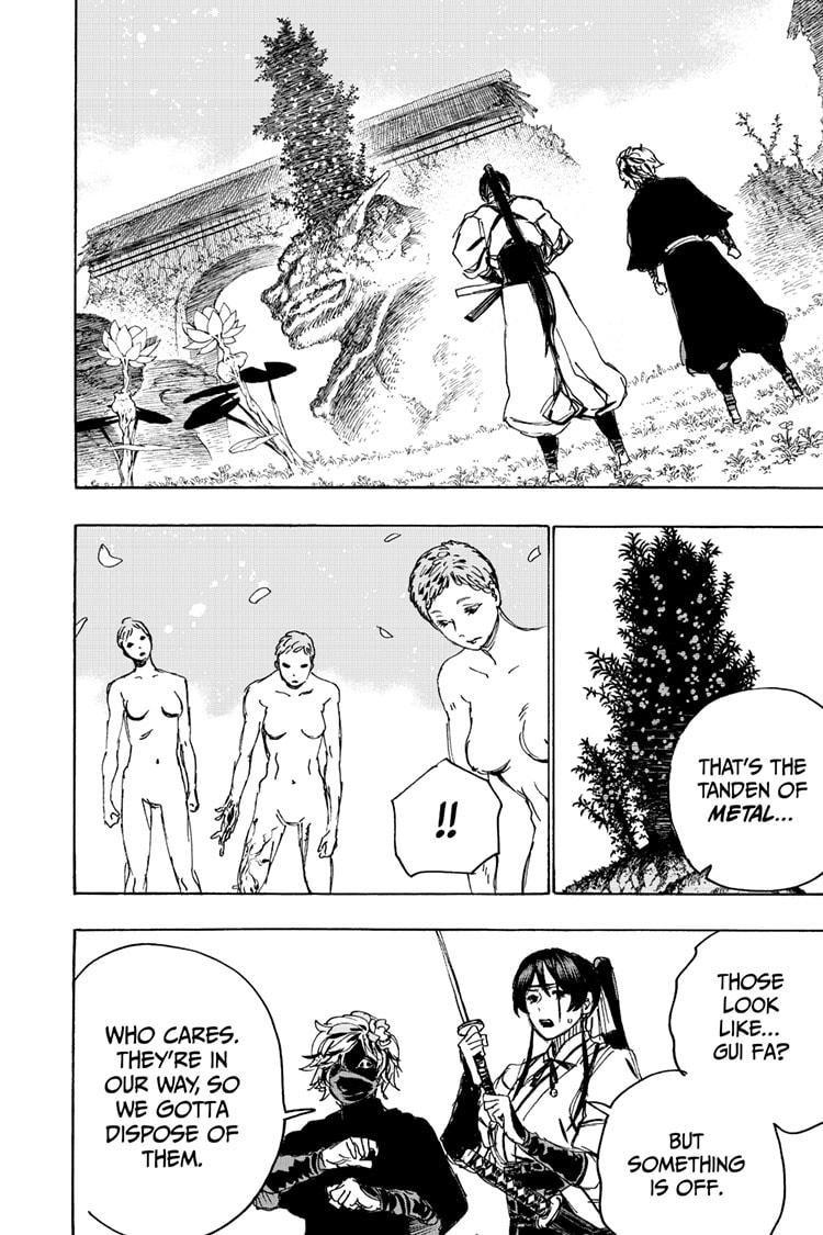Manga Jigokuraku (Yuuji Kaku) - Chapter 103 Page 4