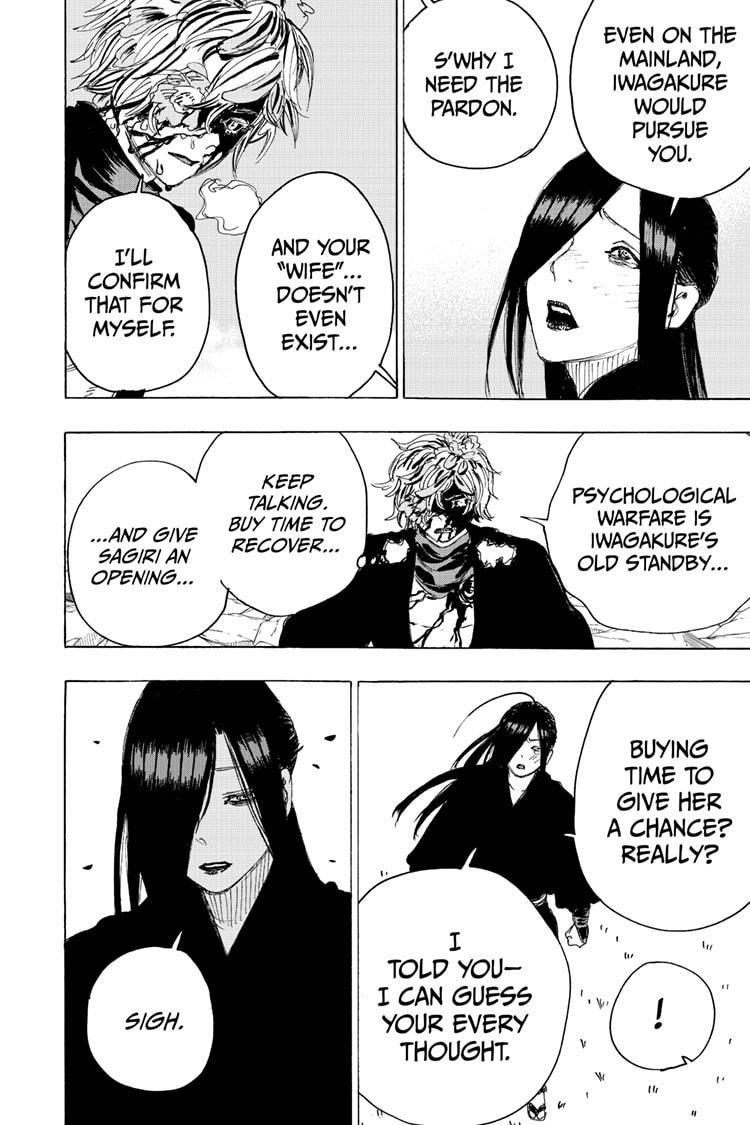 Manga Jigokuraku (Yuuji Kaku) - Chapter 105 Page 18