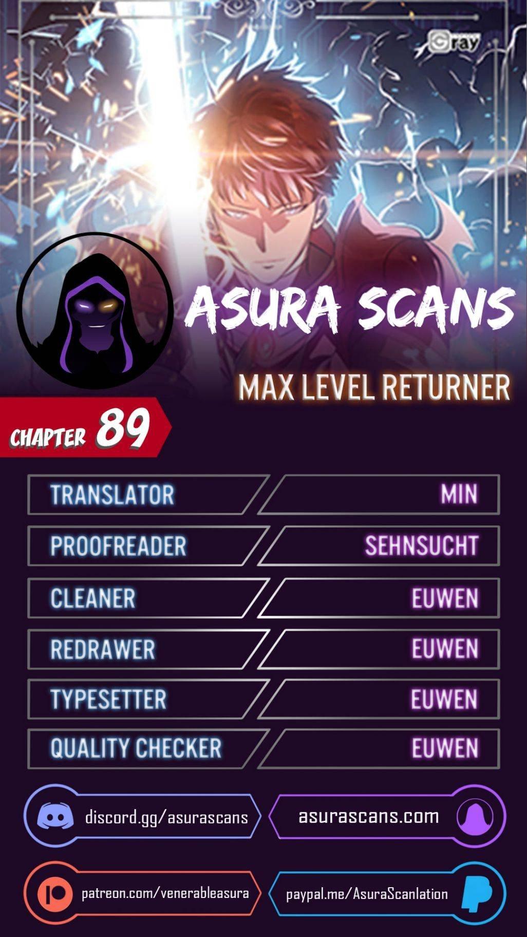 Manga Max Level Returner - Chapter 89 Page 1