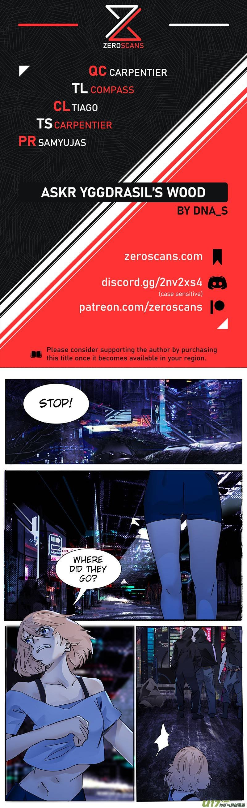 Manga Askr Yggdrasil's Wood - Chapter 102 Page 1