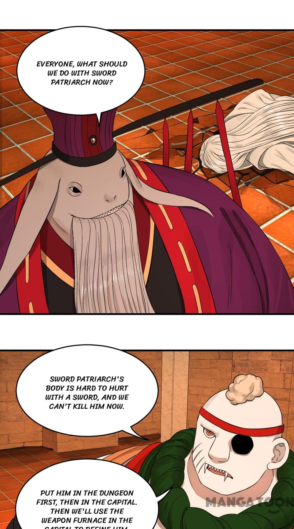 Manga My Three Thousand Years To The Sky - Chapter 109 Page 1