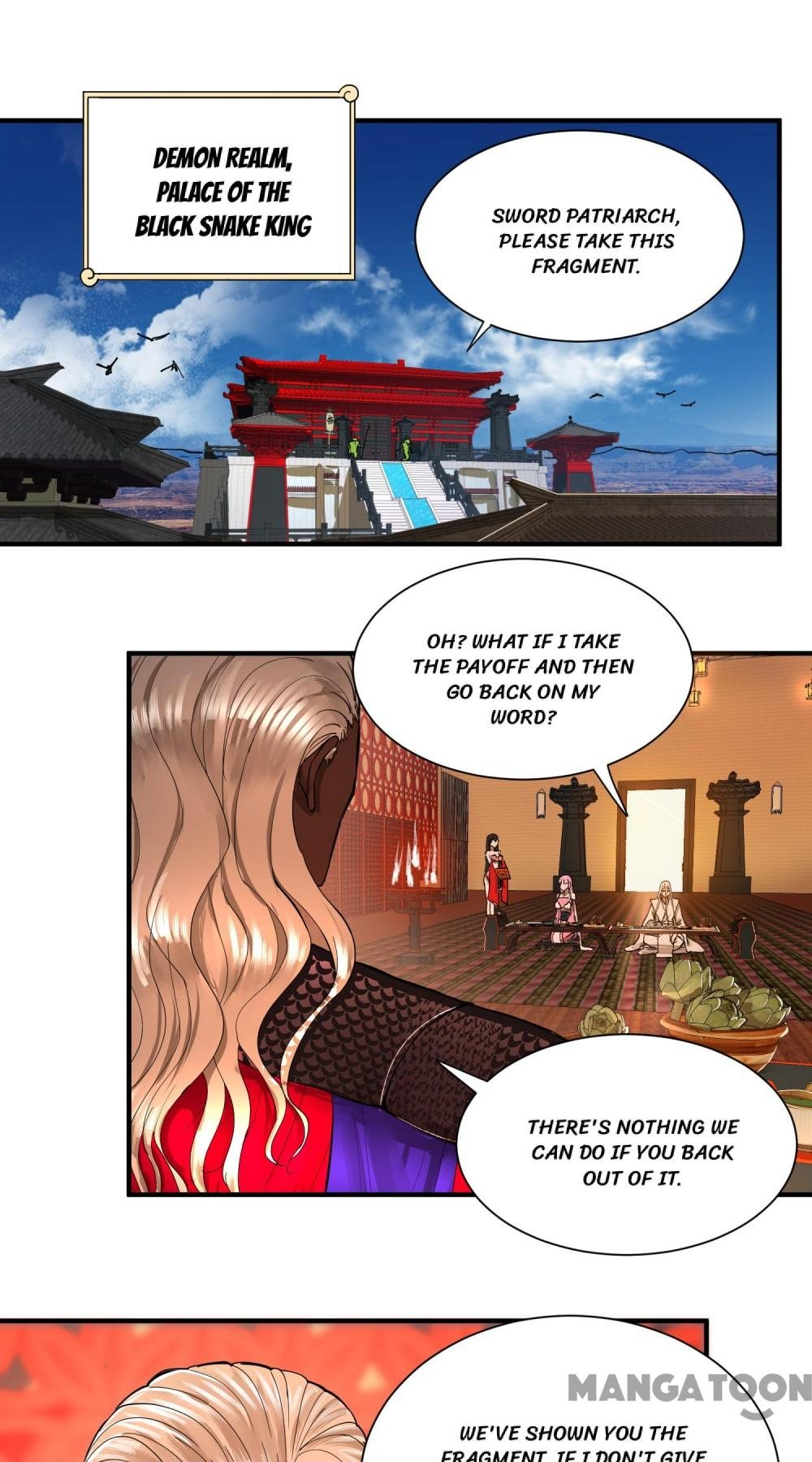 Manga My Three Thousand Years To The Sky - Chapter 98 Page 1