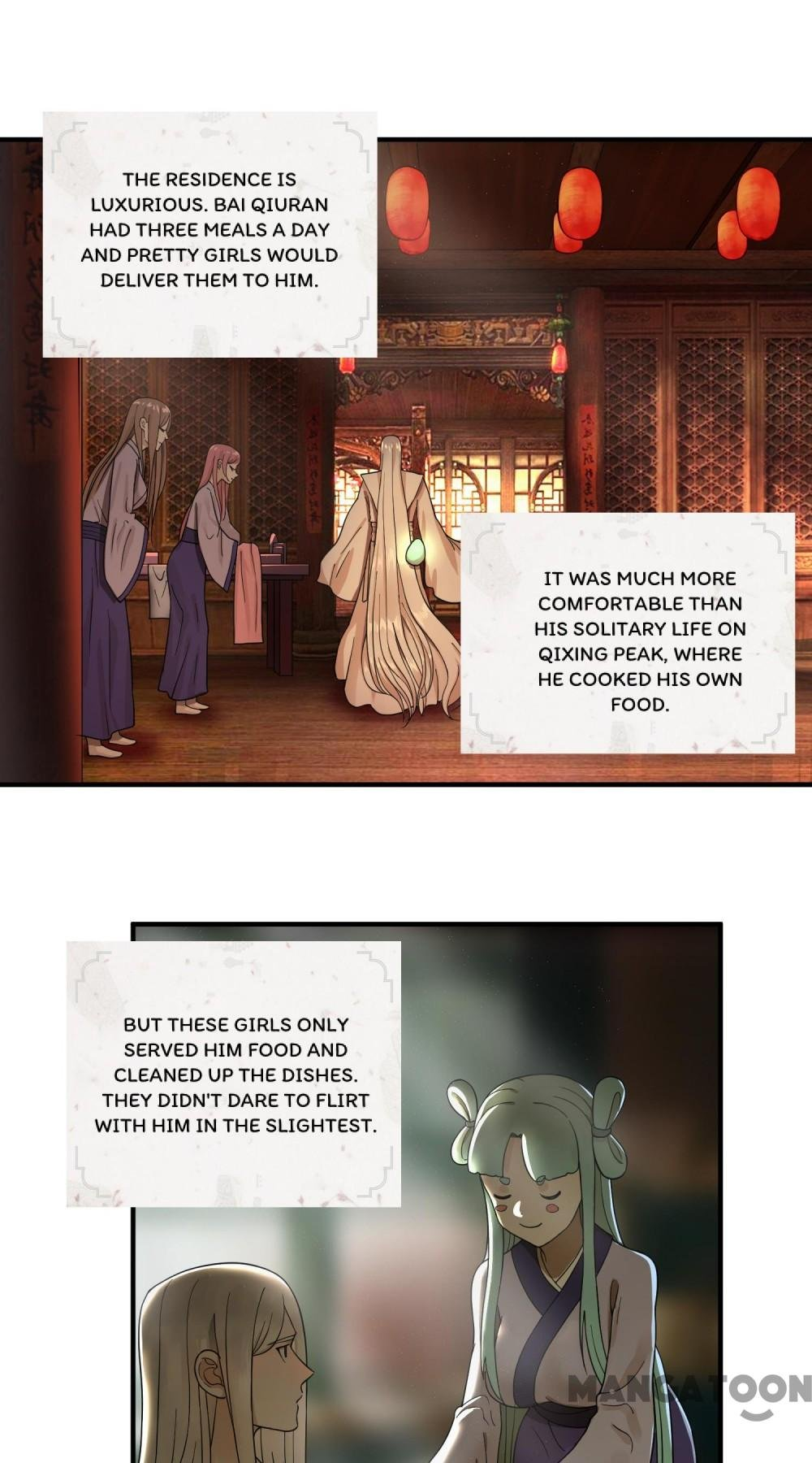Manga My Three Thousand Years To The Sky - Chapter 95 Page 1