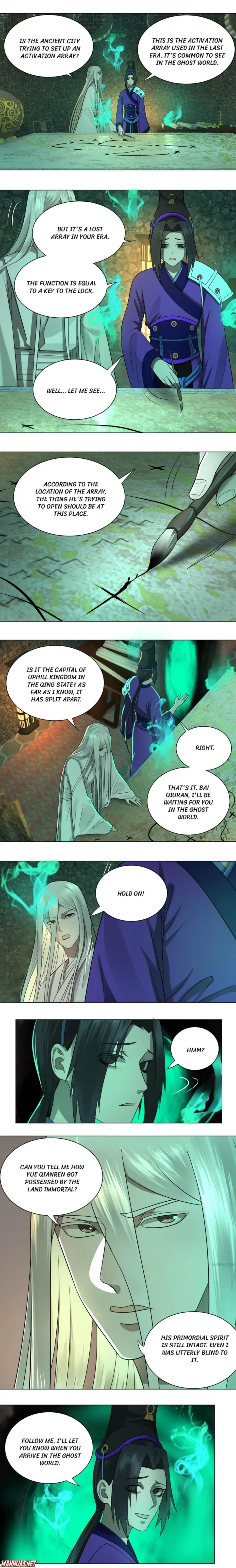 Manga My Three Thousand Years To The Sky - Chapter 68 Page 1