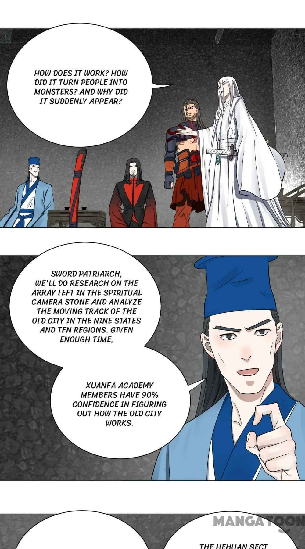 Manga My Three Thousand Years To The Sky - Chapter 61 Page 1