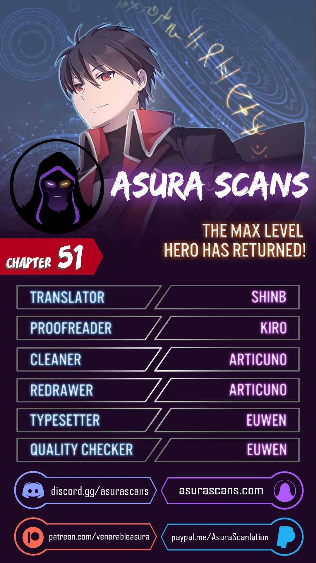 Manga The Max Level Hero Has Returned! - Chapter 51 Page 1