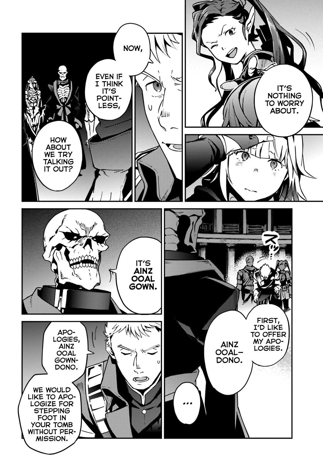 Manga Overlord - Chapter 65 Page 1