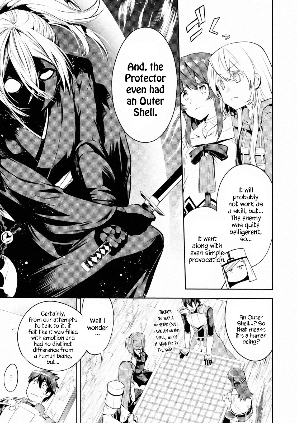 Manga The Labyrinth Raids of the Ultimate Tank ~The Tank Possessing a Rare 9,999 Endurance Skill was Expelled from the Hero Party~ - Chapter 9.2 Page 1