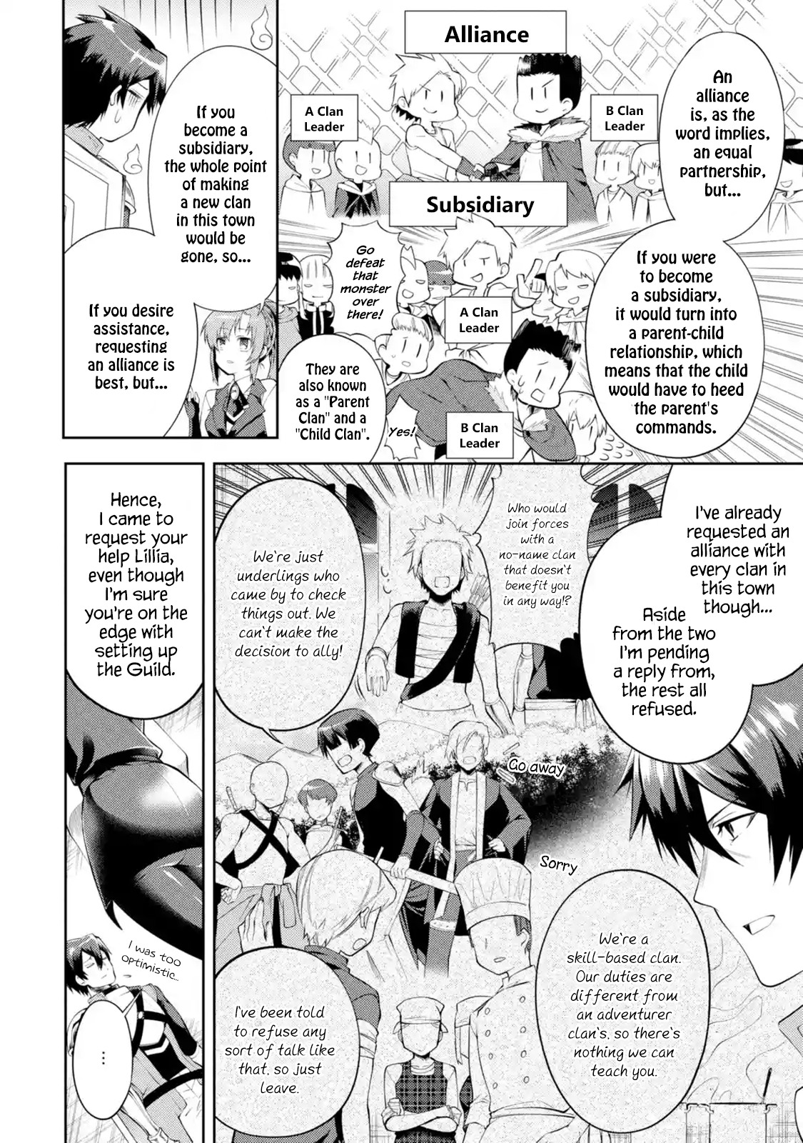 Manga The Labyrinth Raids of the Ultimate Tank ~The Tank Possessing a Rare 9,999 Endurance Skill was Expelled from the Hero Party~ - Chapter 12.2 Page 1