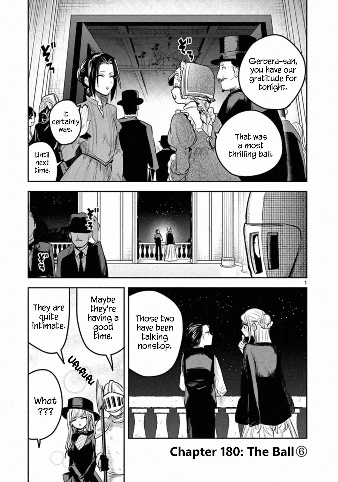 Manga The Duke of Death and his Black Maid - Chapter 180 Page 1