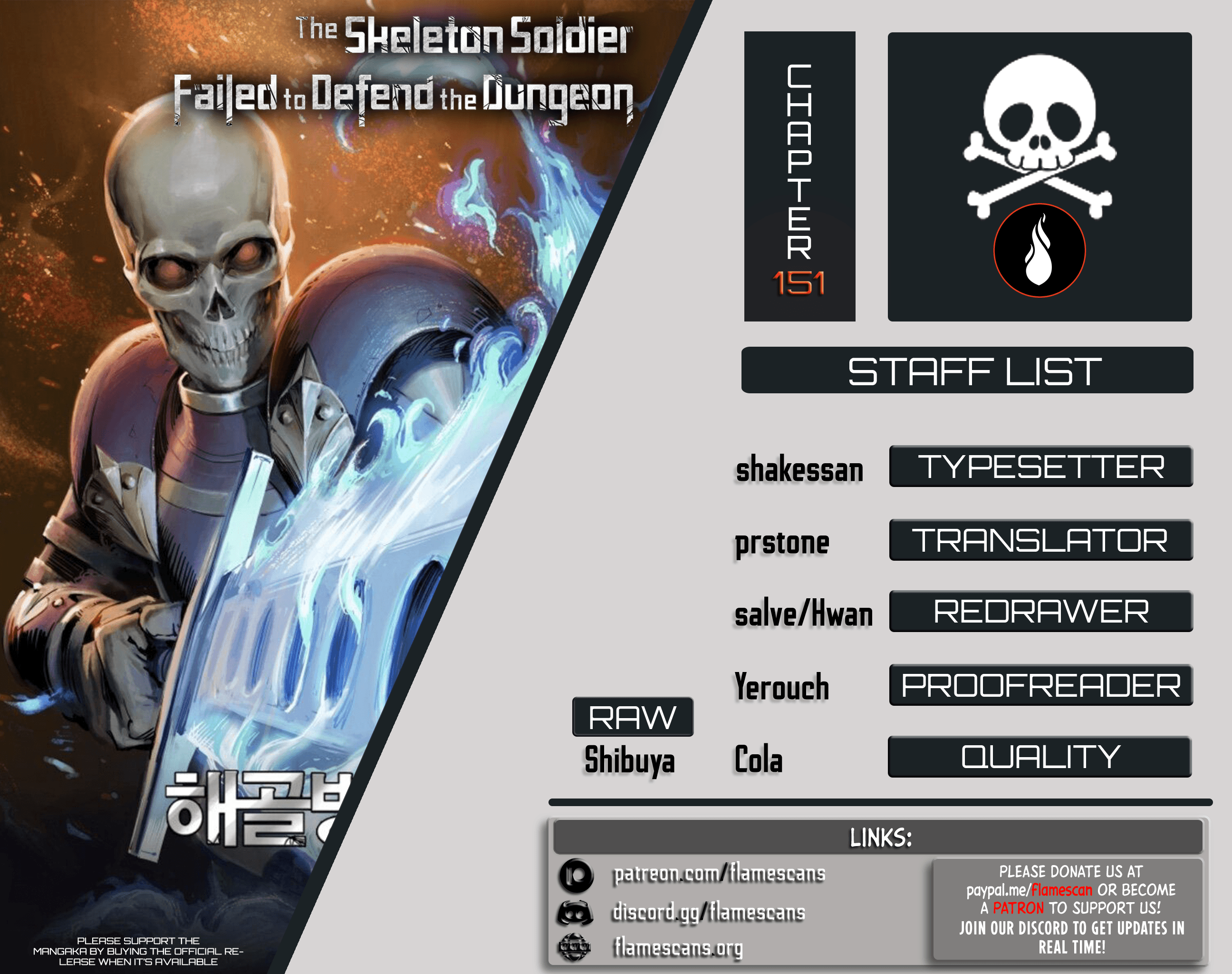 Manga Skeleton Soldier Couldn't Protect the Dungeon - Chapter 151 Page 1